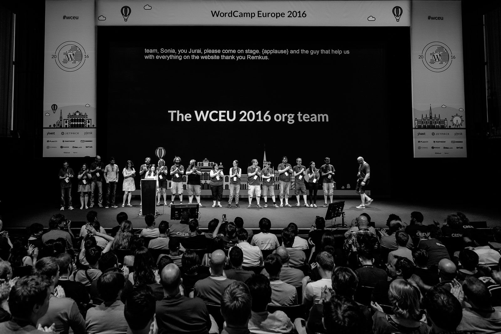 Organizers of WordCamp Europe 2016 in Vienna